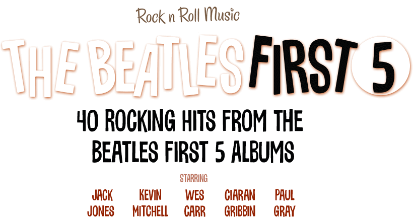 The Beatles First Five Logo